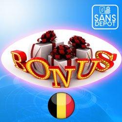 Bonus sans dépôt casinos belges