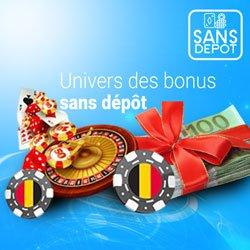 bonus sans dépôt belge